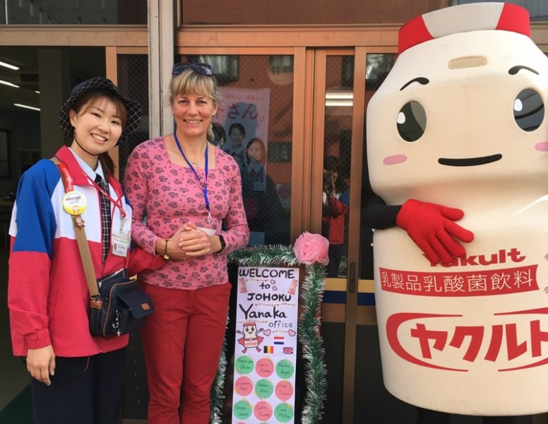 Dr Carrie Ruxton during her visit to Japan